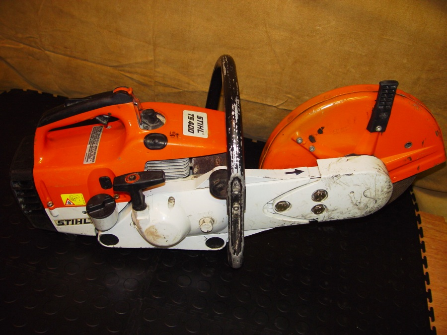 Anyone own a Stihl TS400 Cut Off Saw? - Outside the UFC - UFC® Fight